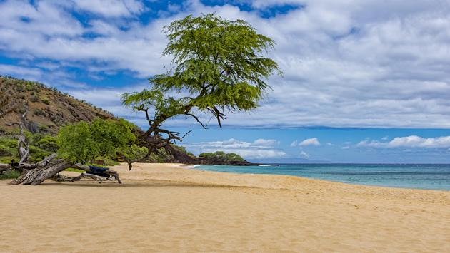 Makena Beach in Maui, Hawaii