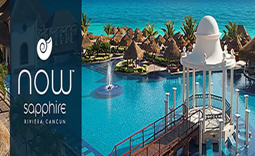 Savings up to 57%, Exclusive VIP Amenities and More at the Newly Renovated Now Sapphire Riviera Cancun