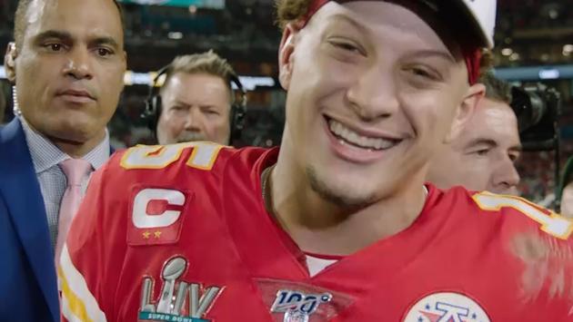 Patrick Maholmes, Super Bowl 2020