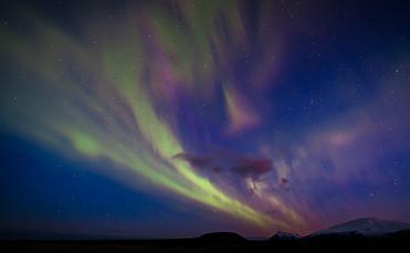 Northern Lights over Iceland