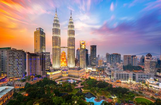 Skyline view of Kuala Lumpur