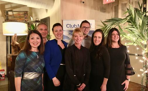 The Club Med Management Team At Their 2019-2020 Launch Event in Toronto