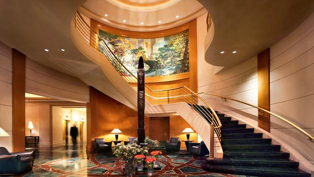 Le lobby du Sofitel New York