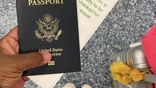 Passport and verified travel documents