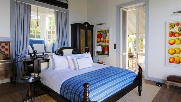 Belle Mont Farm guest room