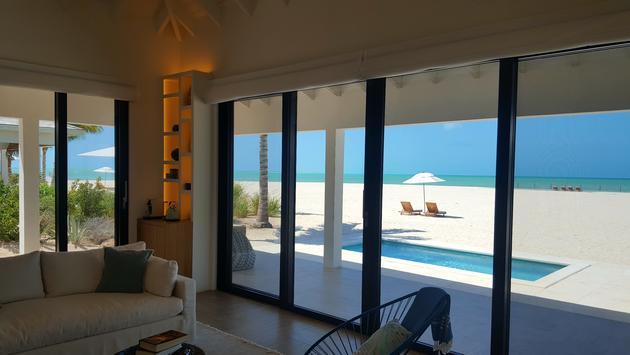 Ambergris Cay beachfront villa