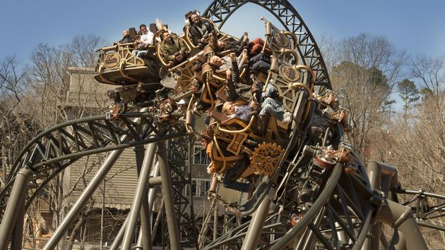 Silver Dollar City is making a splash with its new Time Traveler roller coaster.