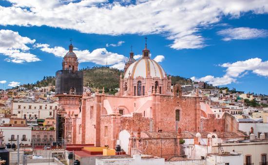 Zacatecas, church, cathedral, unesco