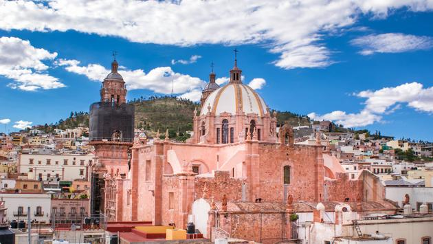 Zacatecas, church, cathedral, unesco