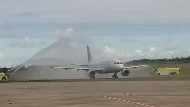 Air Canada revient à Antigua