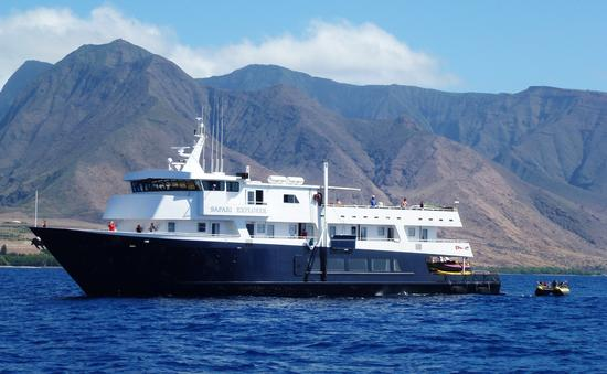 Uncruise's Safari Explorer in Hawaii