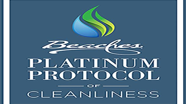Beaches Resorts: Platinum Protocols of Cleanliness