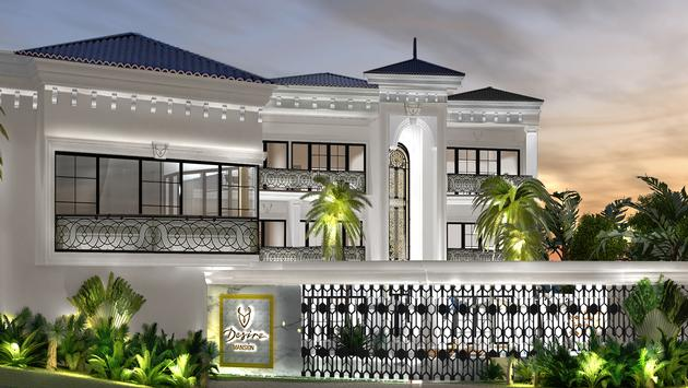Rendering of the Desire Mansion