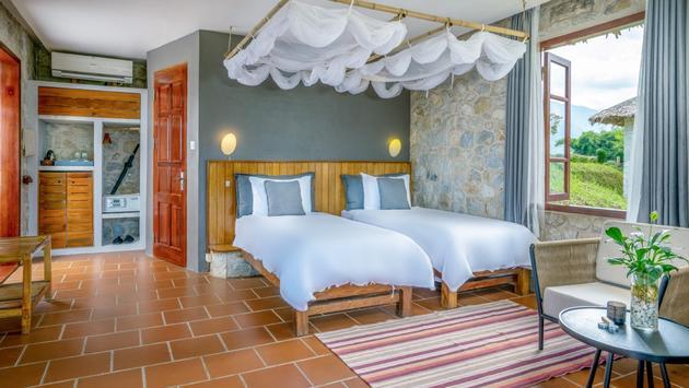 Premium Executive bungalow at Topas Ecolodge in Vietnam