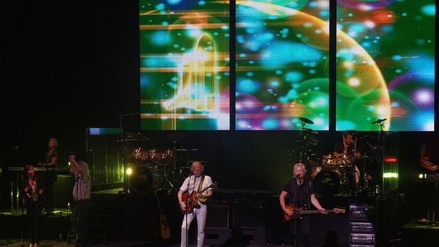 The Moody Blues live