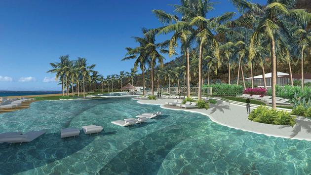 Secrets St. Martin Resort & Spa Main pool