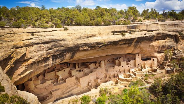 Mesa Verde National Park, Colorado, Native American