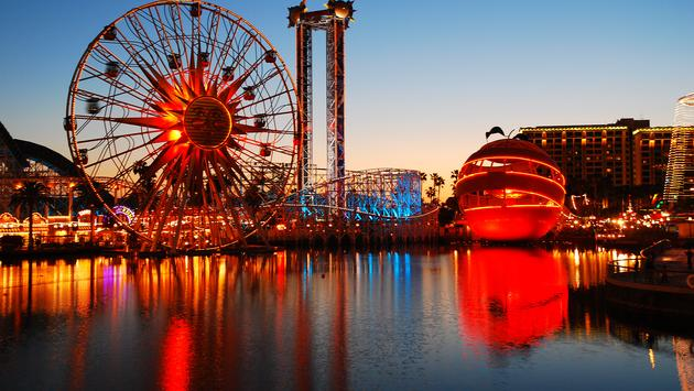 Disney, Disneyland, theme park