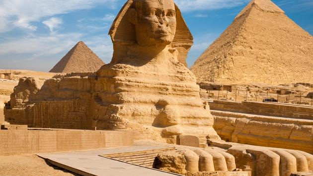 The Great Sphinx in Giza, Egypt