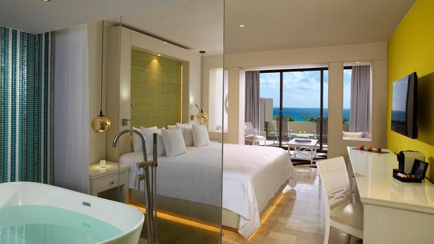 Paradisus Luxury Ocean View room
