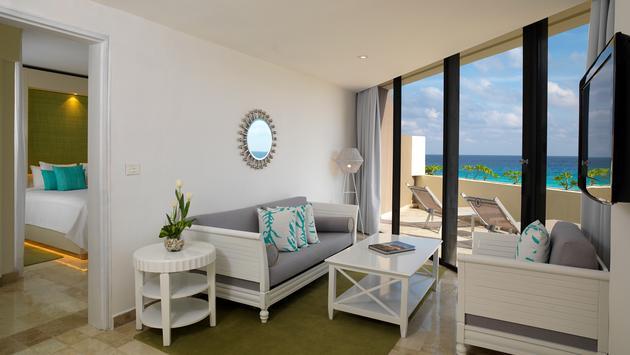ocean view luxury junior suite Paradisus