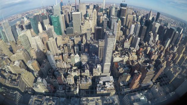 Manhattan from the Empire State Building