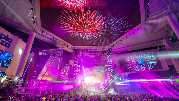 Distrito T-Mobile's grand opening ceremony