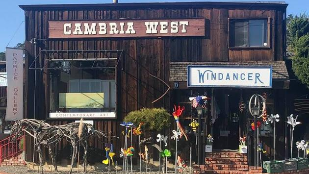 Historic downtown Cambria, California