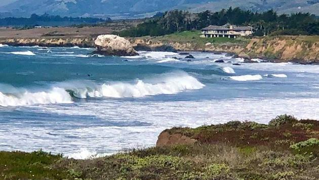 Cambria, California waterfront