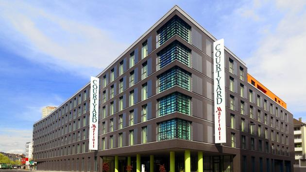 Exterior view of Courtyard by Marriott in Cologne, Germany