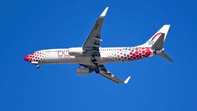 airplane, flight, Royal Air Maroc