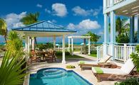 65% Off Rack Rate: Key West Beachfront Four Bedroom Butler Villa Residence with Private Pool