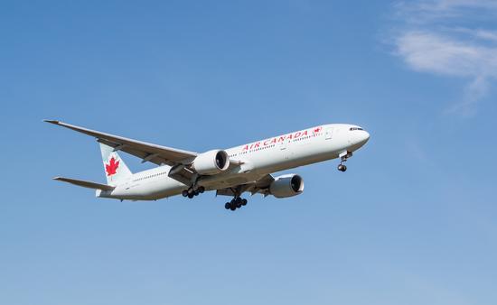 air canada, plane, travel