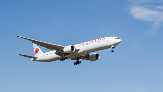 air canada, plane, travel