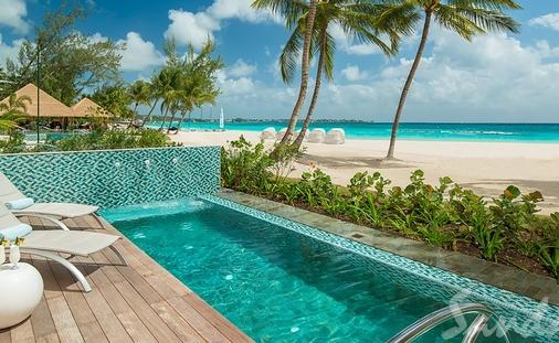 Up to $1,000 Instant Credit: Beachfront Prime Minister One Bedroom Butler Suite w/ Private Pool and Patio Tranquility Soaking Tub