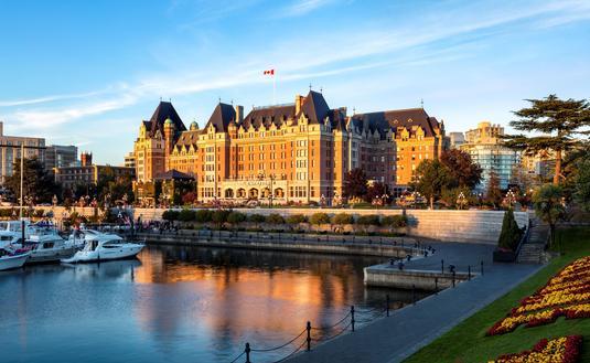 The Fairmont Empress Hotel, Victoria BC