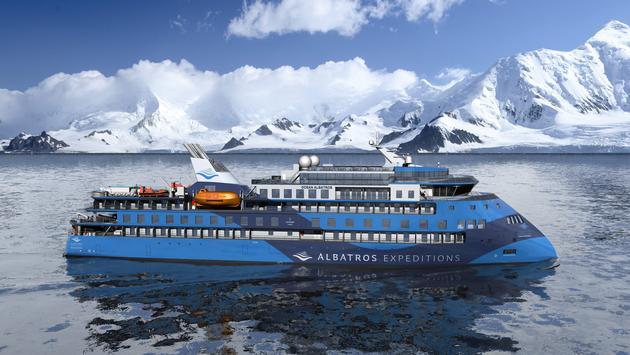 Ocean Albatros will operate in the Arctic.