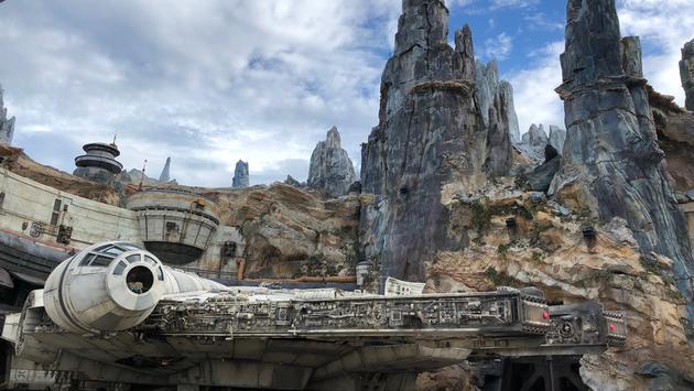 Millennium Falcon at Galaxy's Edge at Walt Disney World