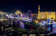 Beautiful Colours Of Vegas At Night