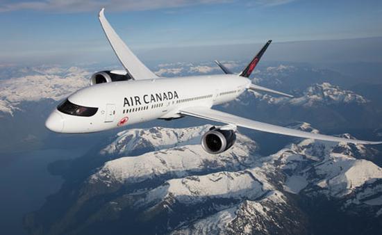 La aerolínea bandera de Canadá fue nombrada como la Mejor de América del Norte por Global Traveler. (Foto de Air Canada)