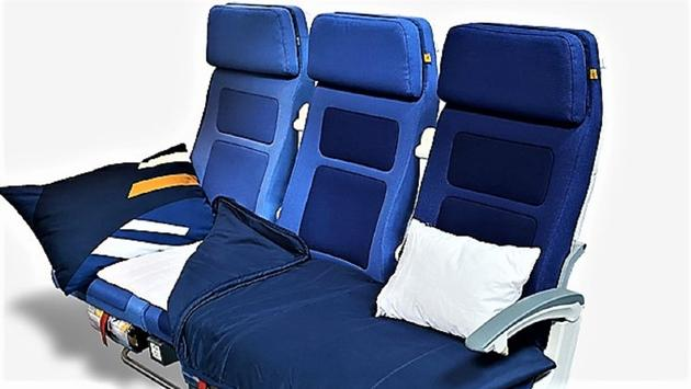Lufthansa's Sleeper's Row