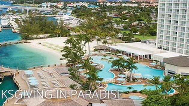 Thanksgiving in Paradise at the Warwick Paradise Island Bahamas