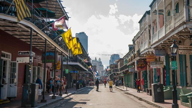 New-Orleans French Quarter 2