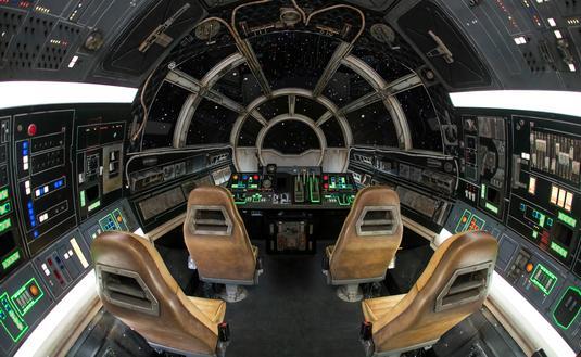 Millennium Falcon: Smuggler's Run at Walt Disney World's Star Wars: Galaxy's Edge