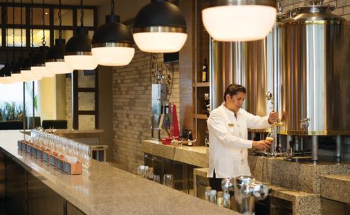Hyatt Ziva Cancun's Tres Cerveza's Microbrewery On-Site