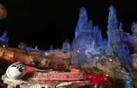 Walt Disney World's Star Wars: Galaxy's Edge at Night