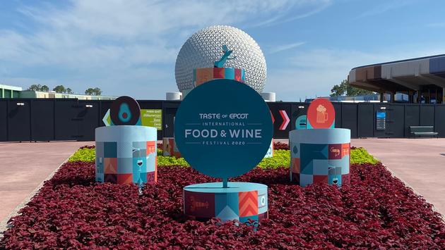 EPCOT Food & Wine sign