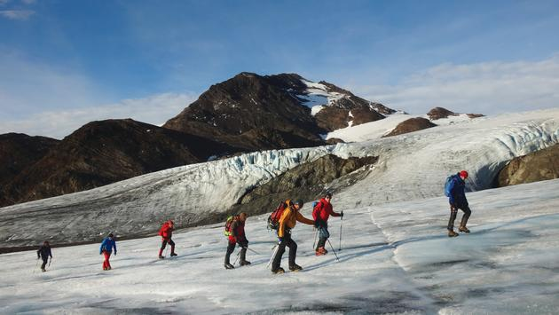 The Shackleton Crossing Expedition, Fortuna Glacier with Aurora Expeditions
