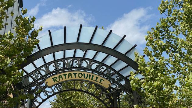 Ratatouille sign at Walt Disney World's EPCOT