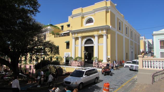 El Convento hotel in San Juan Puerto Rico